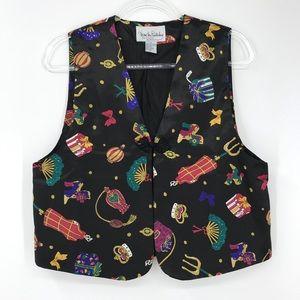 Diane von Furstenberg Small Vintage Vest Print